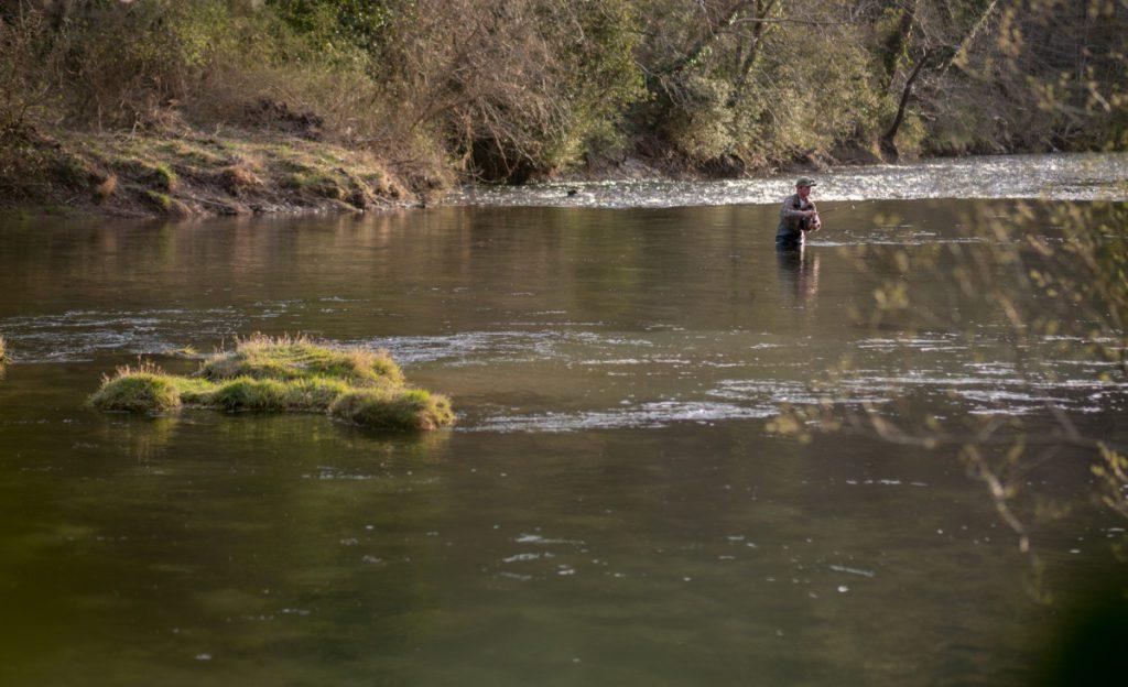 La pêche de la truite aux leurres en rivière
