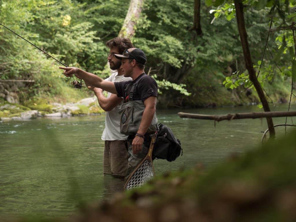guidage pêche pyrénées