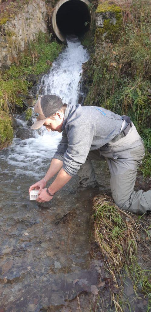 Repeuplemet de ruisseaux de montagne